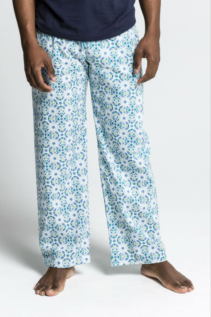 Mens Ethical Organic Cotton Pyjama Pants