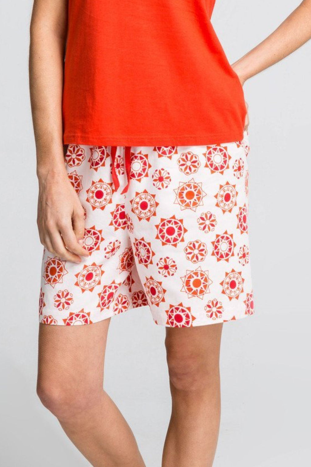 Moonbird Organic Cotton Desert Sun Pyjama shorts
