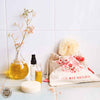 Palm Body Brush With Turmeric Spritzer Gift Bag