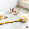 Back Brush with Long Wooden Handle - Eco Friendly Pamper for Bath or Shower