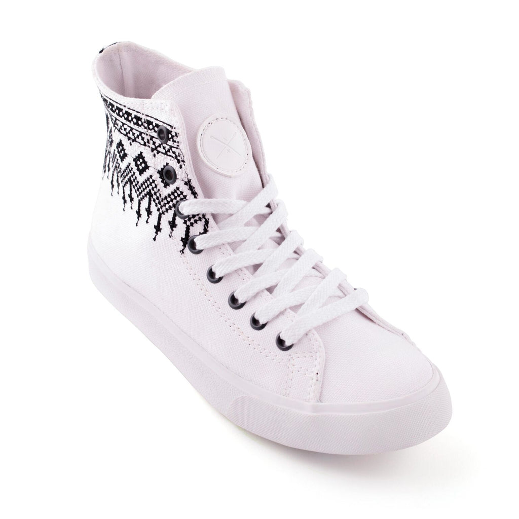 Howlite - Vegan High Top Sneakers