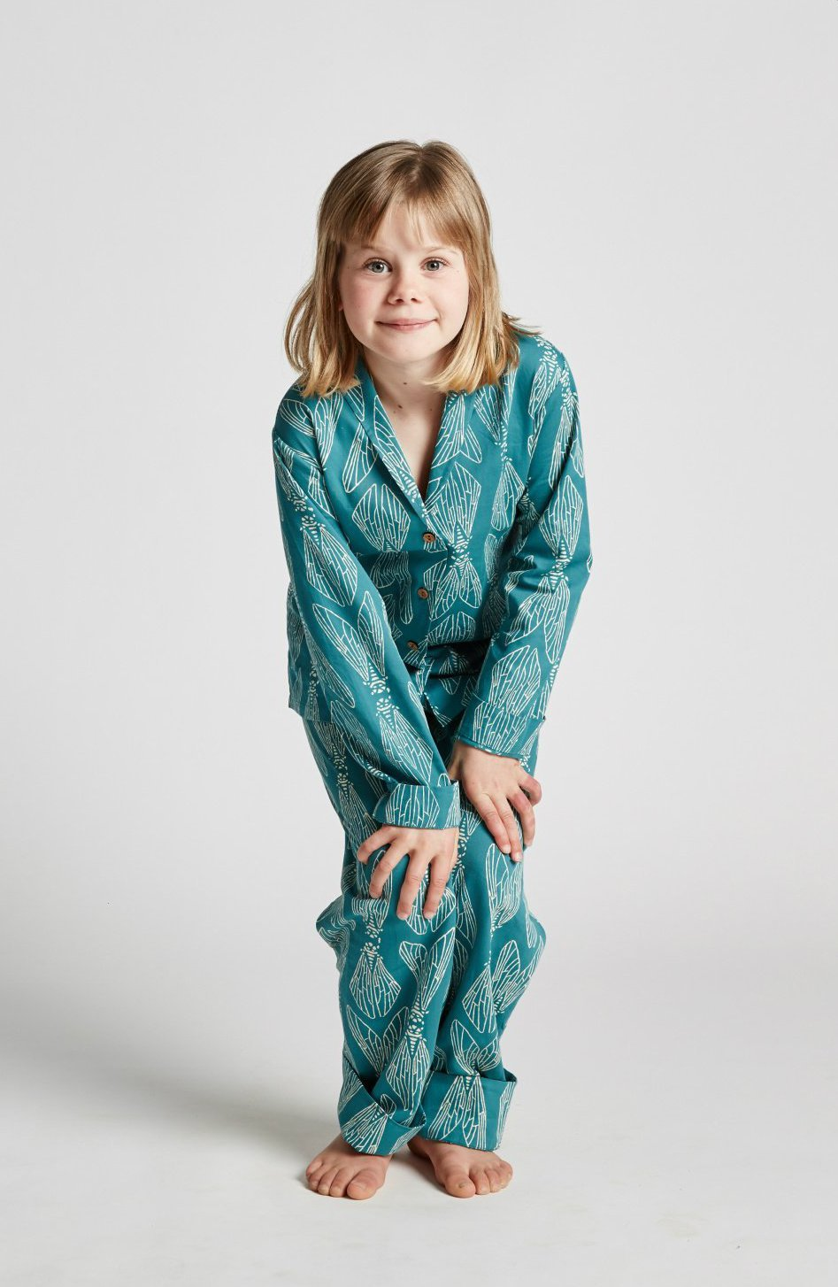 Kids unisex ethical organic cotton pyjamas