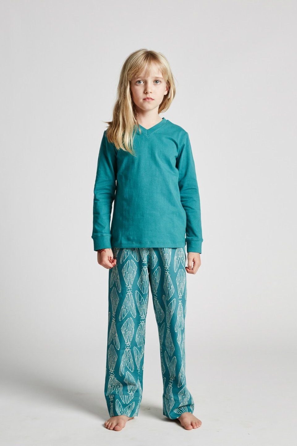 Kids girls boys unisex ethical organic cotton sleepwear