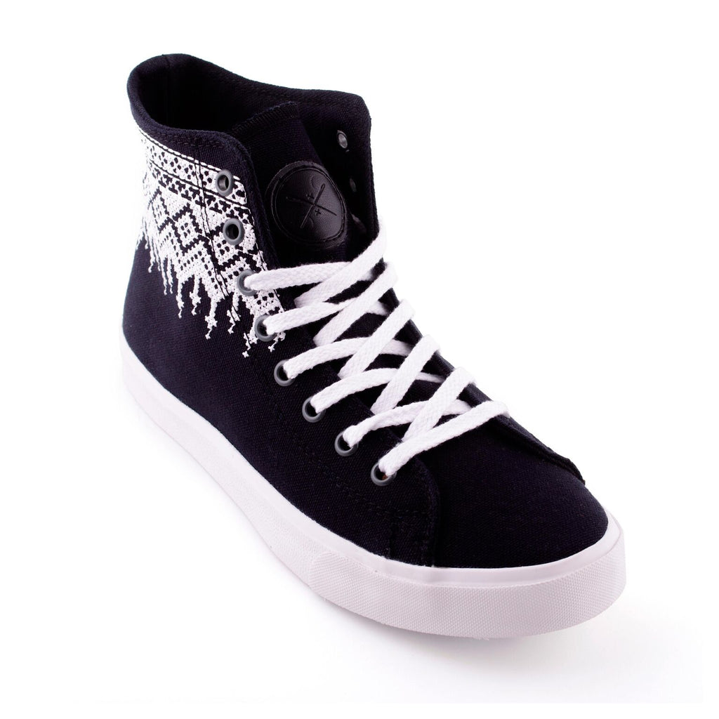 Obsidian - Vegan High Top Sneakers