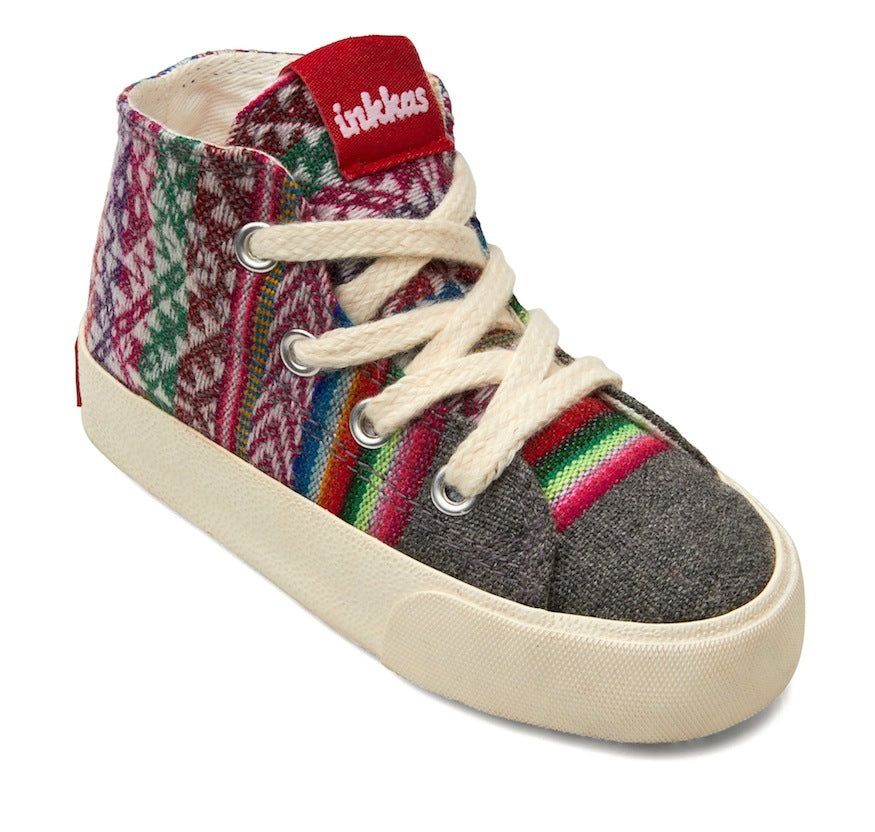 Kids Slate - Vegan High Top Sneakers