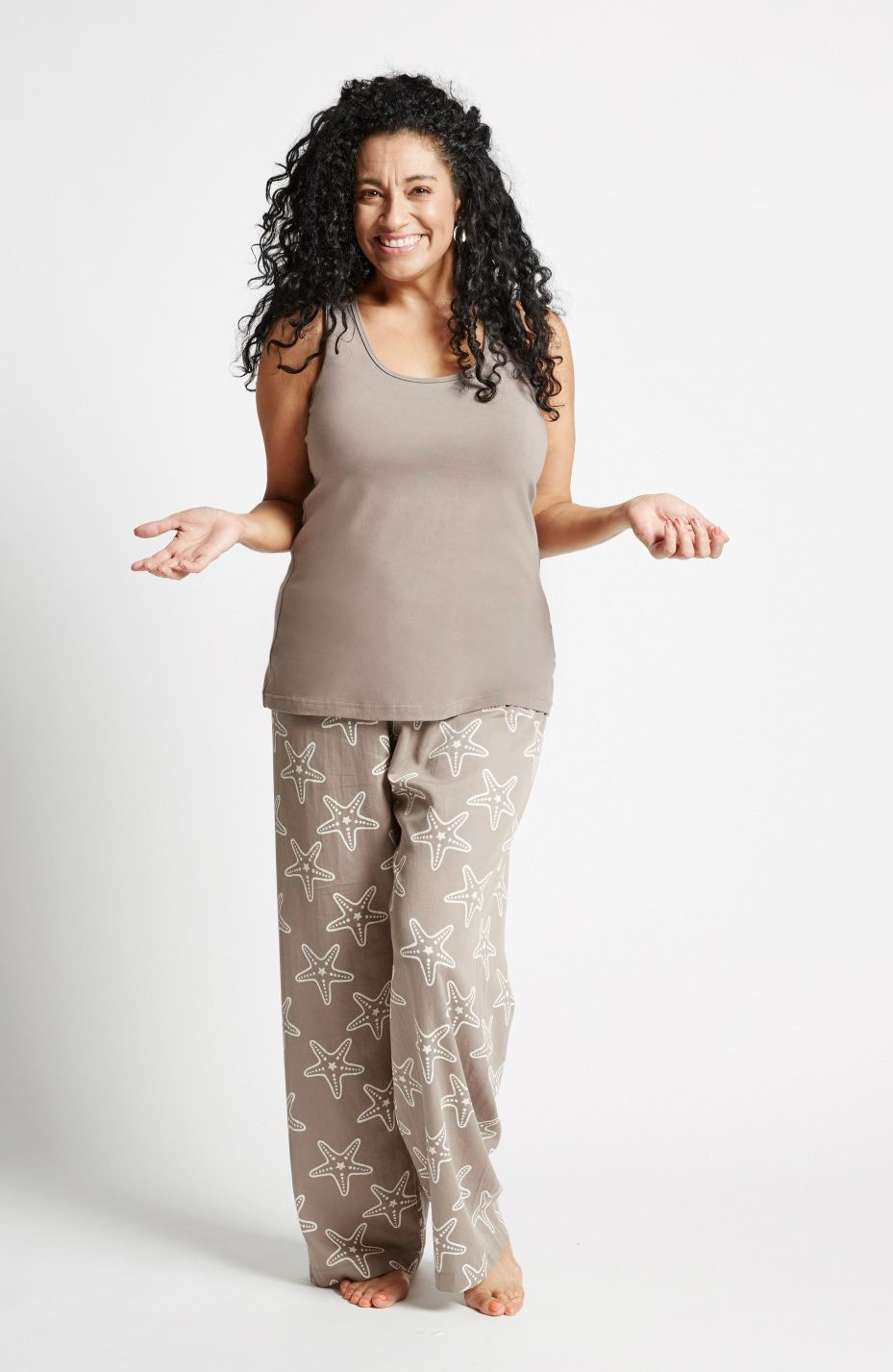 Starfish - Racer Top and Pants - Fair Trade Sleepwear