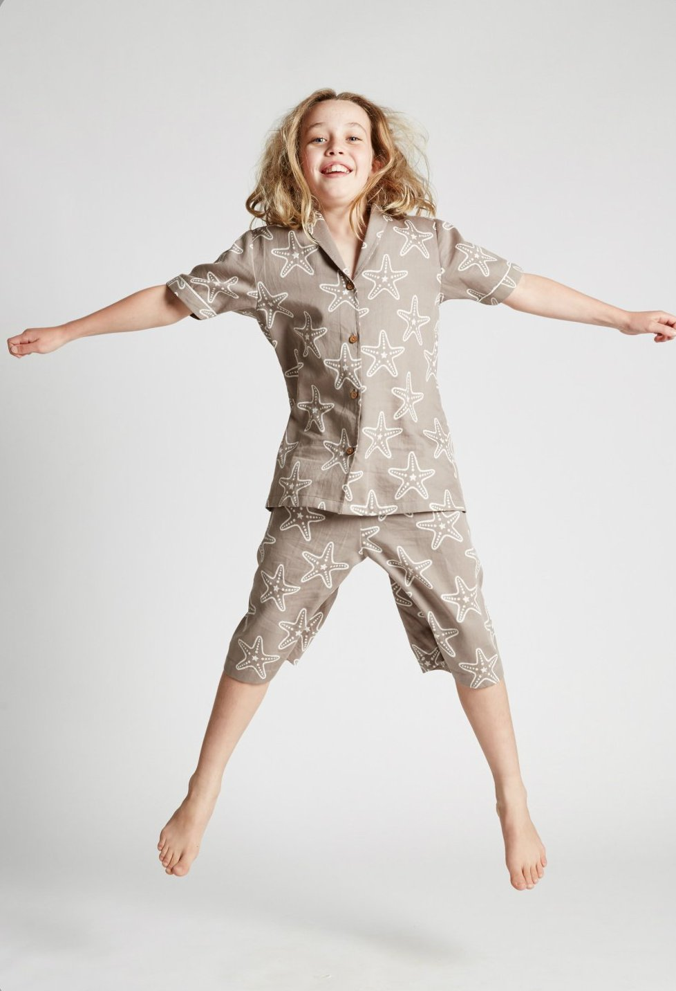 Starfish - Kids Unisex - Classic Top and Shorts - Fair Trade Sleepwear
