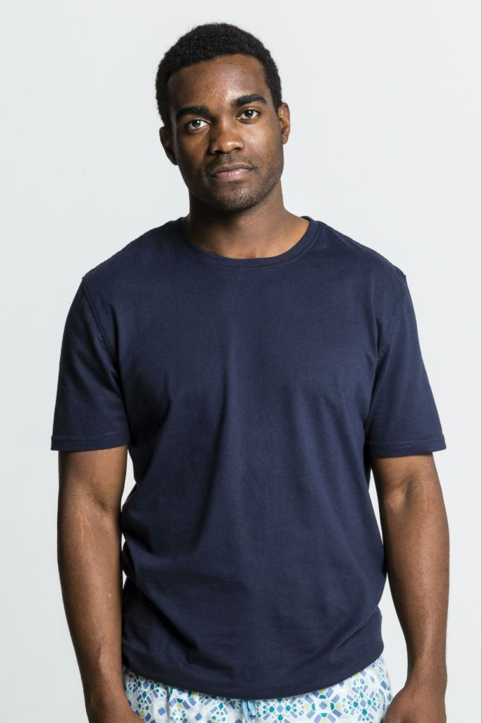 Navy - Organic Cotton Mens Tee Shirt