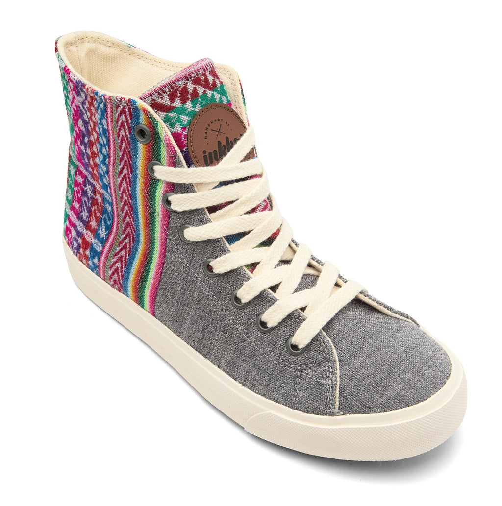 Slate - High Top Vegan Sneakers