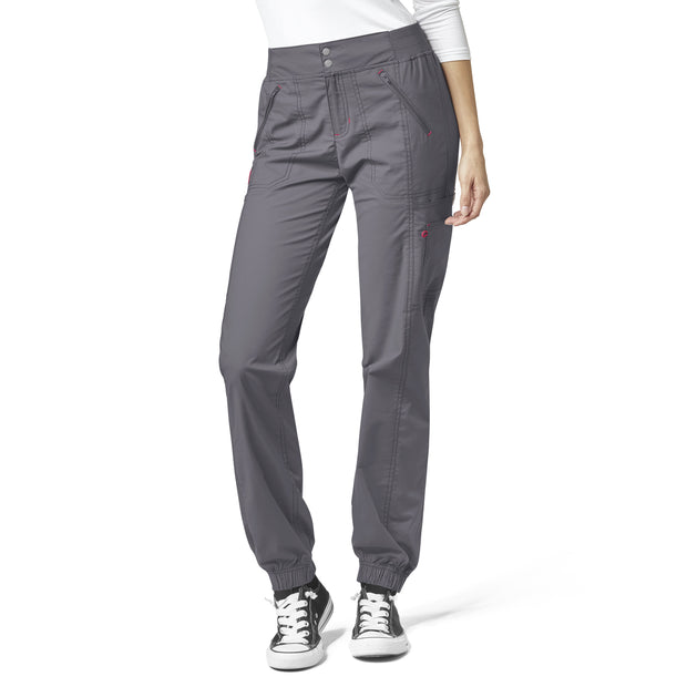 5908A- Love - Womens' Cargo Zip Jogger Pant