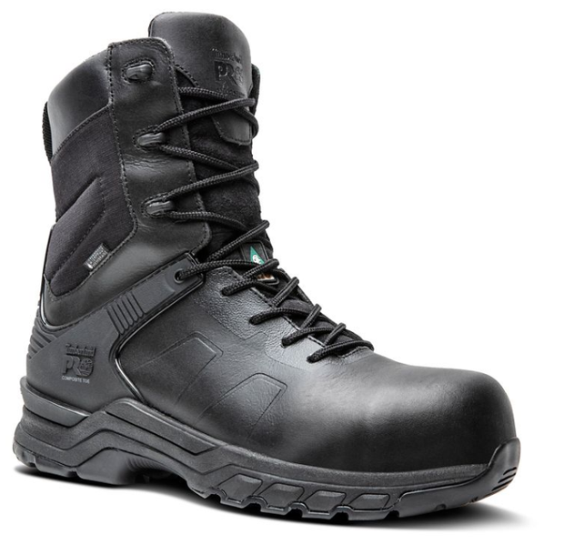 "TB0A1XVC Timberland Pro 8"" Hypercharge Duty Boot Safety Toe"