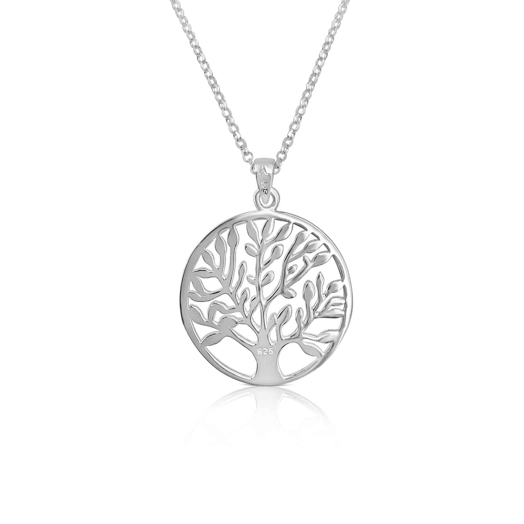 Sterling Silver Tree of Life Pendant with Chain