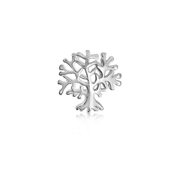 Sterling Silver Tree of Life Stud