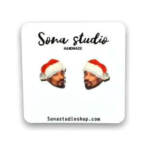 Christmas Snoop Earrings