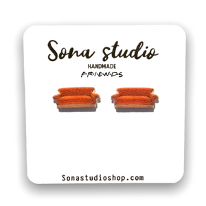 Central Perk Couch Earrings