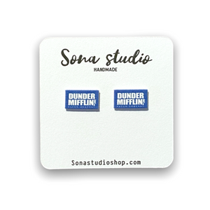 Dunder Mifflin (The Office) Earrings