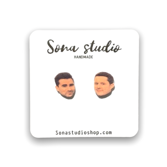 David and Patrick Earrings (Schitt's Creek)
