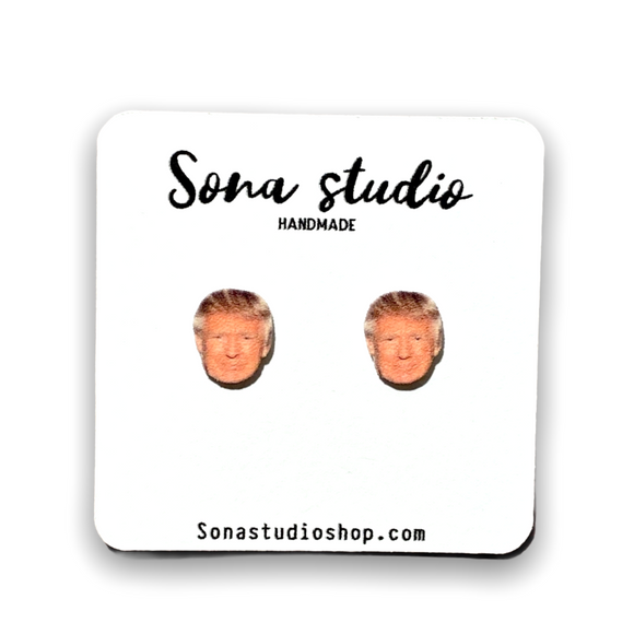 Trump Earrings