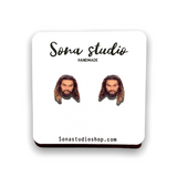 Jason Momoa earrings