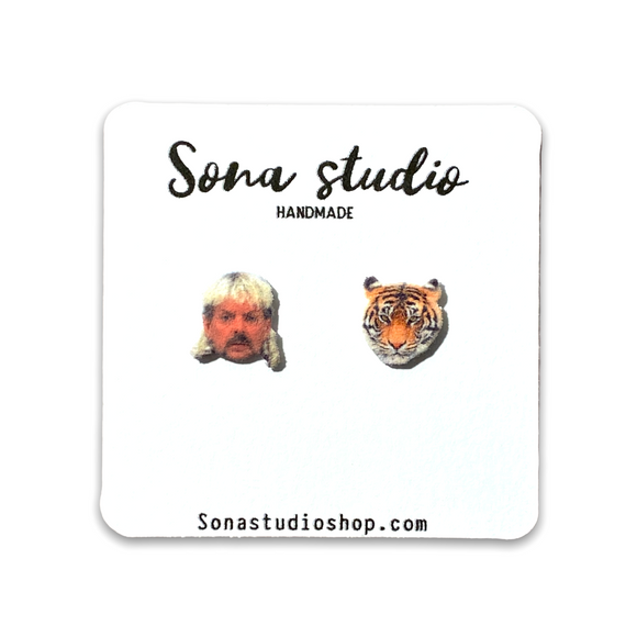 Joe Exotic Earrings