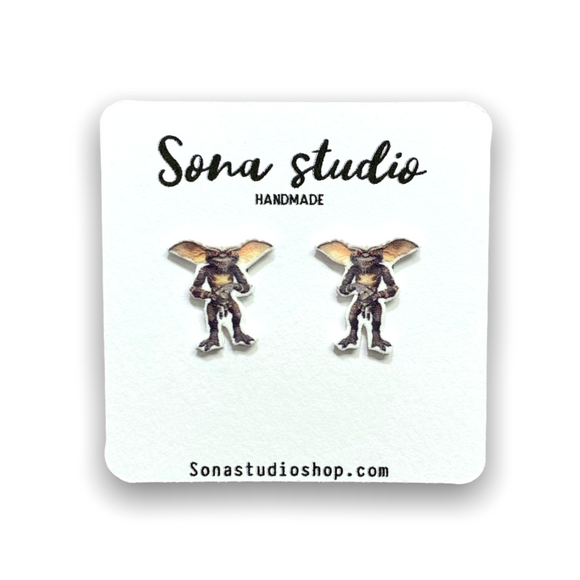 Stripe Gremlins Earrings
