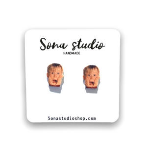 Kevin -Home Alone Earrings