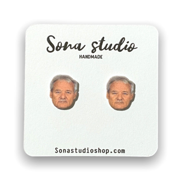 Bill Murray Earrings