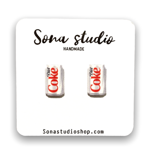 Diet Soda Earrings