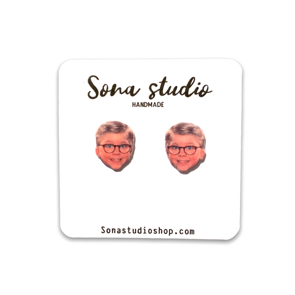 Ralphie - A Christmas Story Earrings