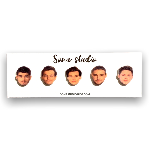One Direction Inspired Stud Earrings