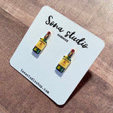 Irish Whiskey Earrings