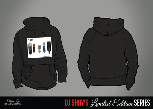 Limited Edition 5 Mics Hoodie