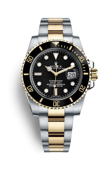 Black/Silver-Gold Submariner - Boring Online Store