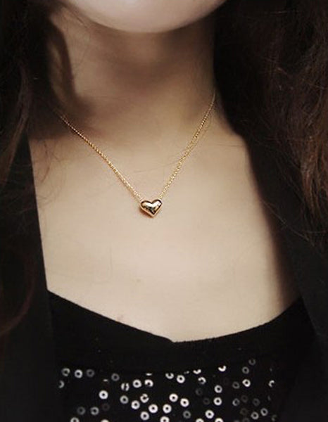 Heart Pendant Necklace - Boring Online Store