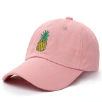 Embroidered Pineapple  Baseball Cap - Boring Online Store