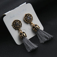 Charming Tassel Earrings - Boring Online Store
