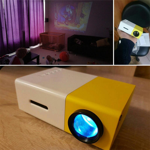 YG300 Mini Portable Projector - Boring Online Store