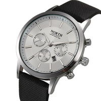 Mens Watch - Luxury Casual Military Quartz Sports Wristwatch - Boring Online Store