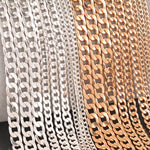 Trendy Chains - Silver and Gold Plated - Boring Online Store
