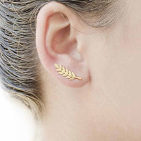 Charming Feather Earrings - Boring Online Store