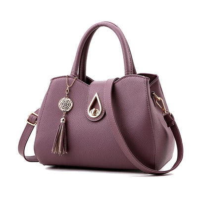 Tassel High Quality PU Leather Handbag - Boring Online Store