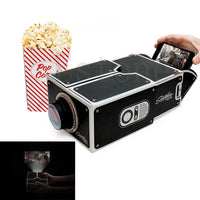 New Smartphone Projector DIY | Portable Cinema - Boring Online Store