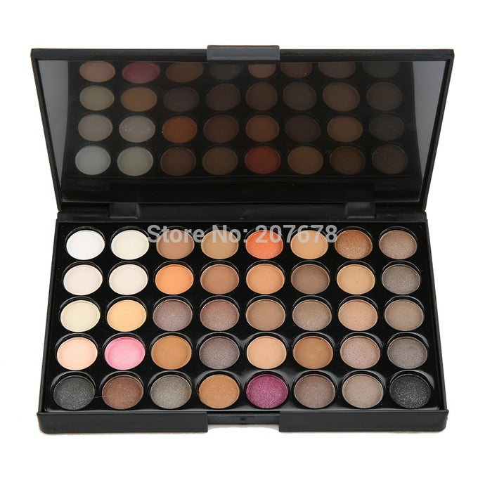 40 colours bright Eyeshadow Palette Make Up, , 10 Dollar Chic, 10 Dollar Chic - 10 Dollar