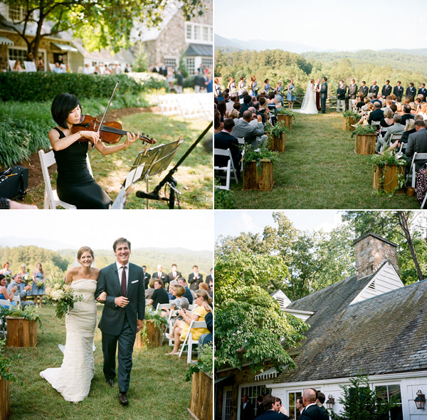 Tennessee Organic Farm Wedding: Real Wedding: Blackberry Farm, TN