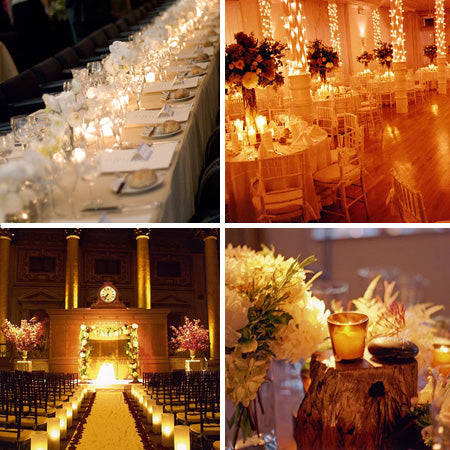A Candlelight Wedding Rustic Wedding Chic
