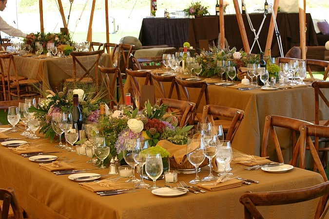 We Love Table Decor Rustic Wedding Chic