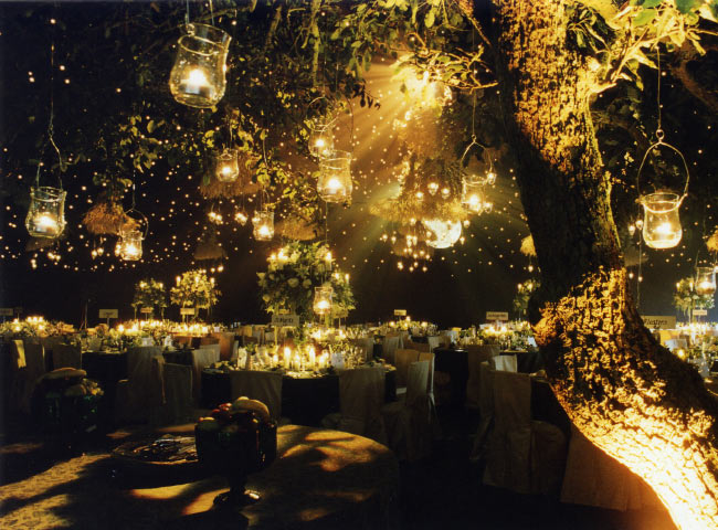 Inspiration For An Evening Rustic Wedding