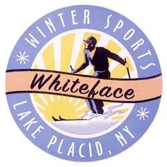 Whiteface Skiing Sign