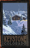 Keystone Cabin Sign