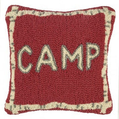 Camp Pillow Red
